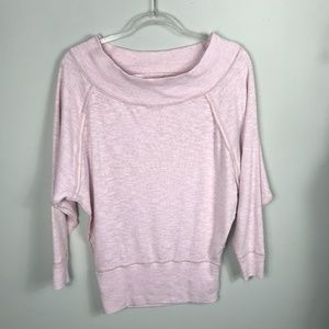 Free People Sweaters - We the Free Free People Oversized Pink Sweater